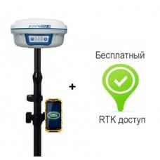 Ровер RTK South S82-V GSM + контроллер Land Rover с подключением к сети базовых станций