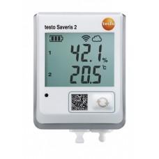 WiFi-логгер данных testo Saveris 2-H2 с разъёмом для подключения внешних зондов температуры/влажности