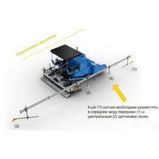 Система MOBA matic Big Sonik Ski для асфальтоукладчика